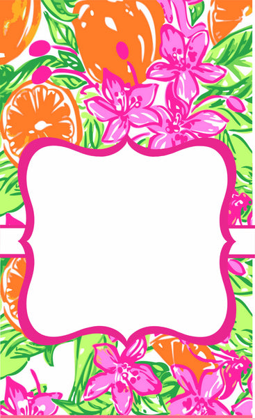 Lilly 21 Oversize Center Garden Flag