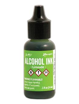 Tim Holtz Alcohol  Ink -Limeade