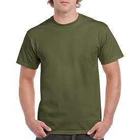 Gildan Adult T-Shirt - Military Green