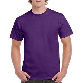 Gildan Adult T-Shirt - Purple