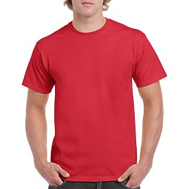 Gildan Adult T-Shirt - Red