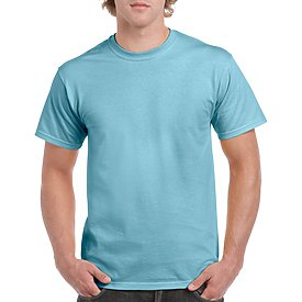 Gildan Adult T-Shirt - Sky