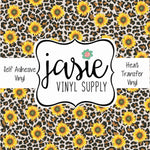 Sunflower/Leopard Print