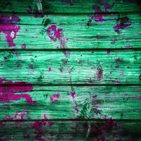 Distressed Wood #7 Green with Purple
