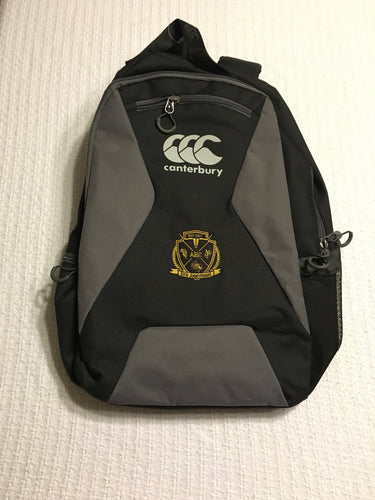 Black Canterbury 50th Anniversary Backpack