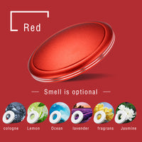Car Air Freshener Scent Diffuser Vehicle Home Office Slim UFO Design Fragrance