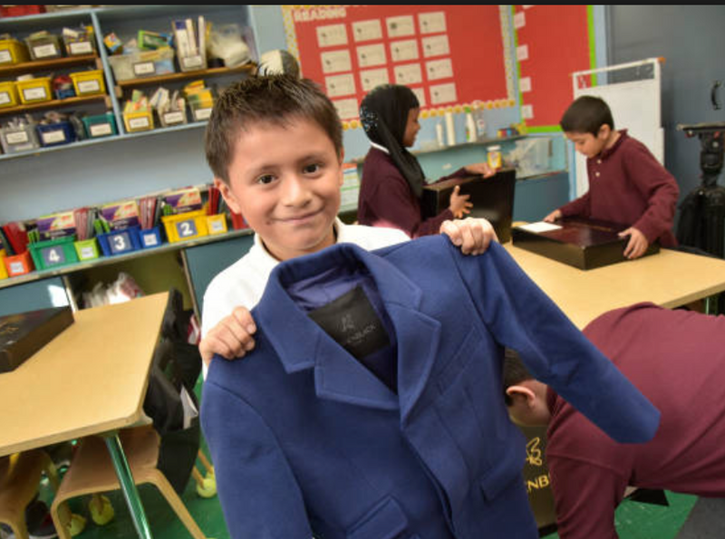Designer Andrew Jang of Adriaen Black Donates 370 Custom-Made Coats to Bronx Students
