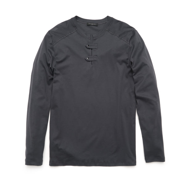 Logan Long Sleeve Henley