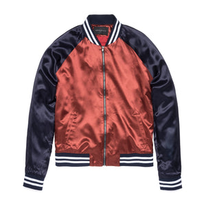 William Satin Bomber