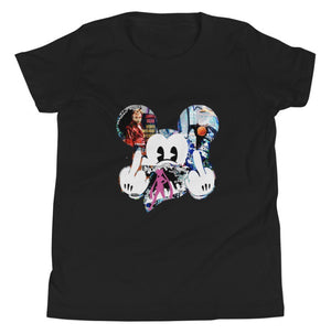 Trevor Booker Mickey Youth Crew-Neck T-Shirt - Black