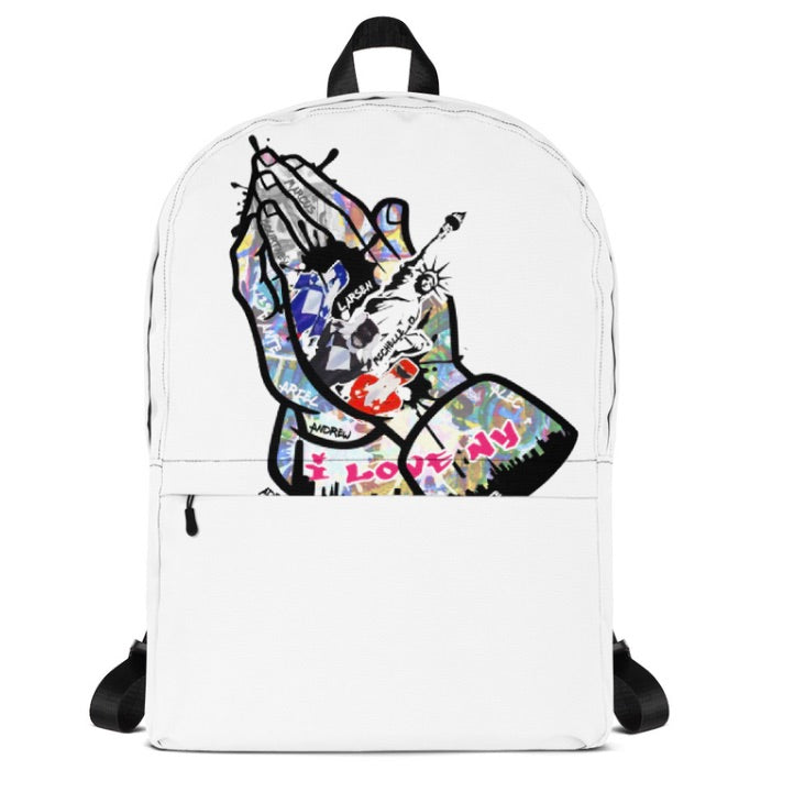 Alec Ogletree X Adriaen Black Backpack