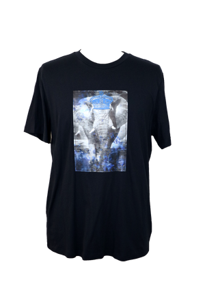 Royal Elephant Crew Neck T-Shirt