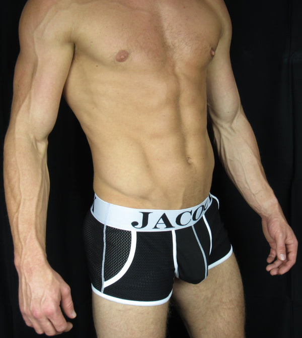Jacock Sports Mesh Boxers with Pockets - comfortable, (product_type) - underwear