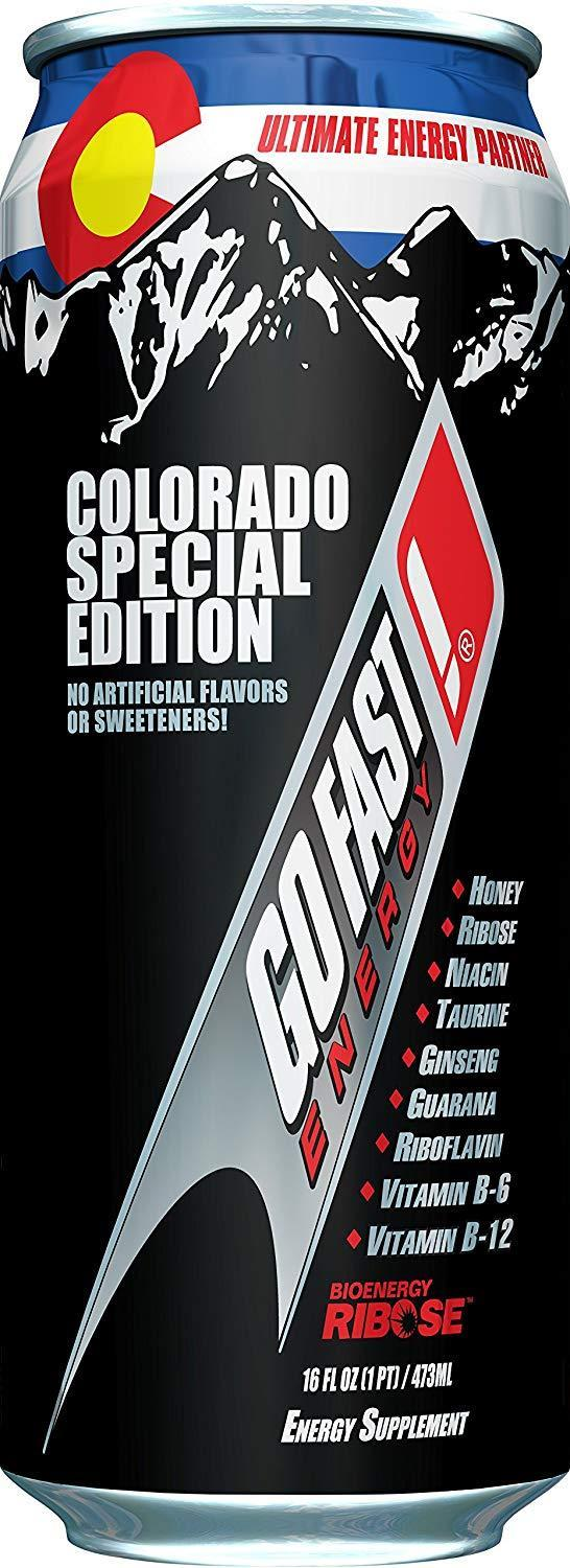 Go Fast Colorado Edition, 16 oz (Case of 12)