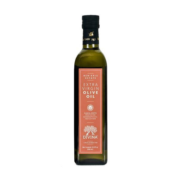 Divina Renieris Estate Extra Virgin Olive Oil, 16.9 oz.
