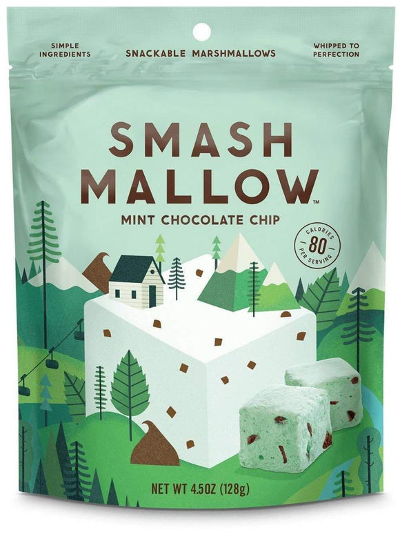 Smashmallow Mint Chocolate Chip, 4.5 oz.