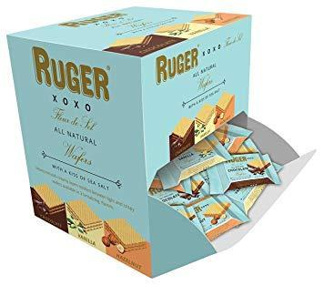 Ruger XOXO Mini Wafer Asst Display, 0.28 oz. (Case of 96)
