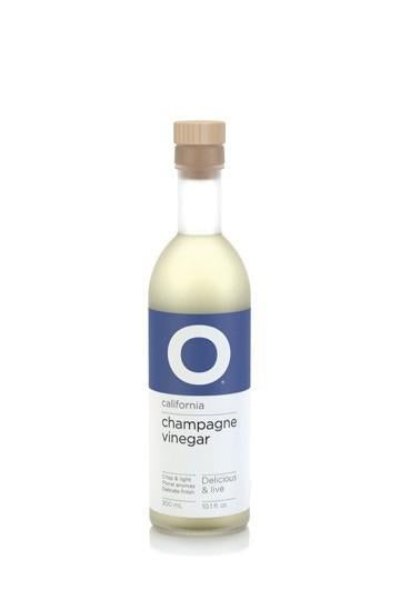O Olive Oil Champagne Wine Vinegar, 10.1 oz.