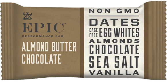 Epic Performance Almond Butter Bar, 1.87 oz. (Pack of 9)