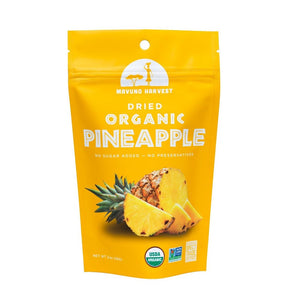 Mavuno Harvest Dried Organic Pineapple, 2 oz. (Case of 6)