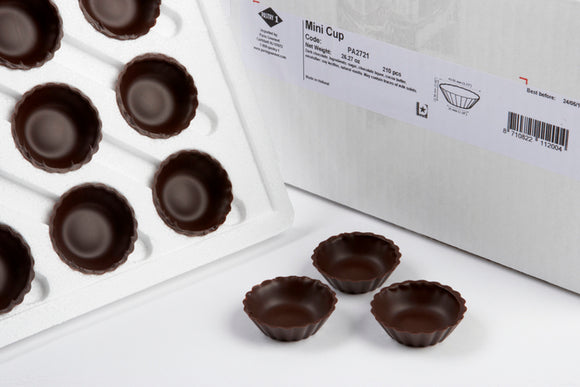 Pastry 1 Mini Chocolate Cups, 1.8 Inch, 210 Count
