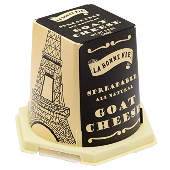 La Bonne Vie Pyramid Goat Cheese, 5.29 Oz (Pack of 5)