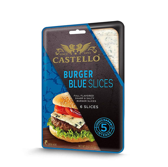Castello Blue Cheese Slices, 5.3 Oz (Pack of 5)