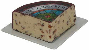 Wensleydale with Cranberries (1 pound) by Mondo Food