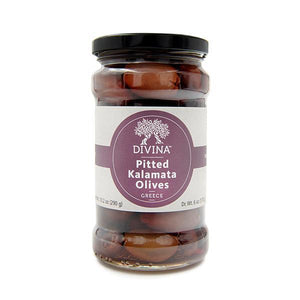 Divina Pitted Kalamata Olives, 6 oz.