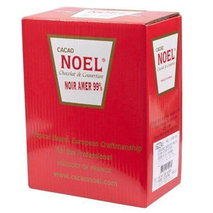 Noel Dark Chocolate Pistoles - Unsweetened 97.5%, Liquor - 1 box - 11 lb
