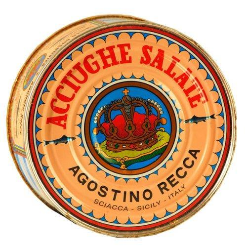 Recca Salted Anchovies - 1 Pound 12 Ounces