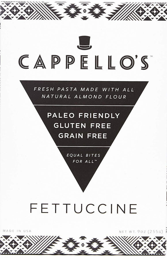 Cappello's Gluten Free Fettuccine, 9 oz. (Pack of 6)