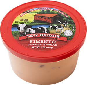 New Bridge Pimento Cheese Spread, 7 Oz (Pack of 3)