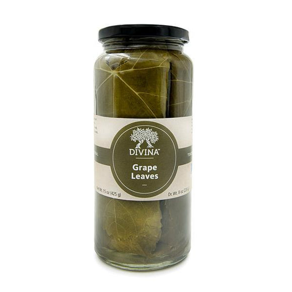 Divina Grape Leaves, 8 oz.