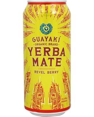 Guayaki Yerba Mate, Revel Berry, 16 oz. (Case of 12)