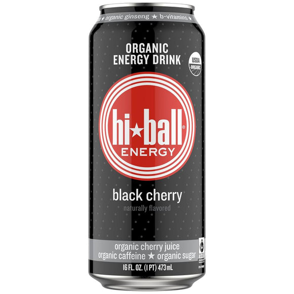 Hiball Black Cherry, 16 oz. (Case of 8)