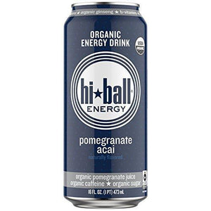 Hiball Pomegranate Acai, 16 oz. (Case of 8)