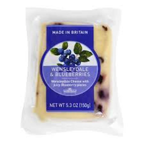 Wensleydale With Blueberries, 5.3 Oz (Pack of 3)