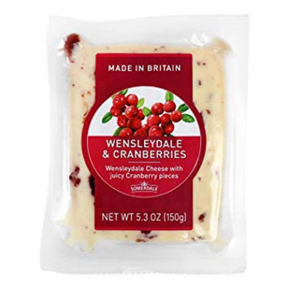 Wensleydale With Cranberries, 5.3 Oz (Pack of 3)