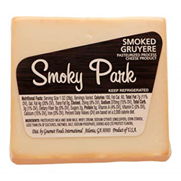 Smoky Park Smoked Gruyere, 8 Oz (Pack of 3)