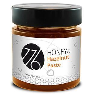 776 Honey & Hazelnut Paste - 8.8 oz