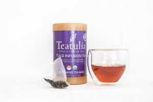 Teatulia Tulsi Infusion Tea, 6/16 ct