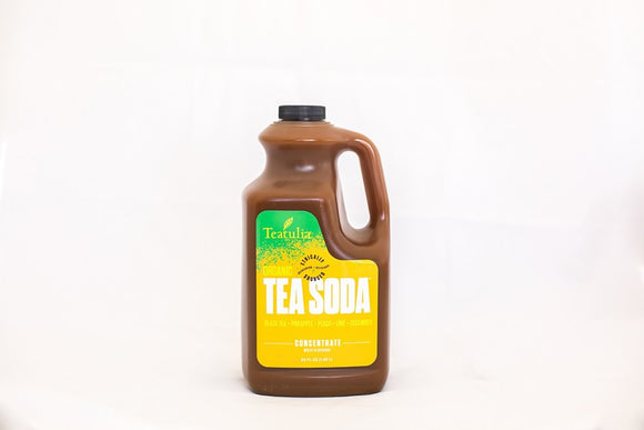 Teatulia Tea Soda Concentrate - Black Tea, 64 oz.