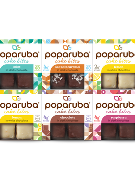 Poparuba Variety Pack, 5 Flavors