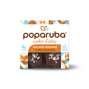 Poparuba Cake Bites<br>Sea Salt Caramel<br>6 (2.4 oz) Boxes