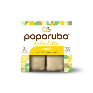 Poparuba Cake Bites<br>Lemon<br>6 (2.4 oz) Boxes