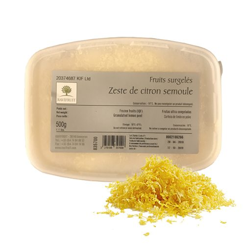 Ravifruit Lemon Zest - 1.12 Pounds