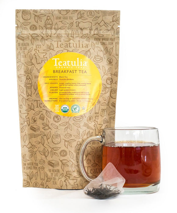 Teatulia Breakfast Tea, 50/2 gr