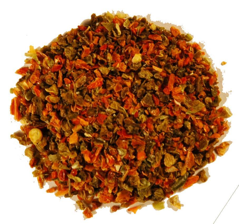 Dried Mixed Bell Peppers - 64 Oz.