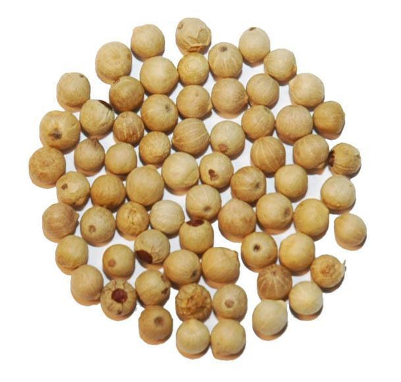Whole Muntok White Peppercorns - 80 Oz.